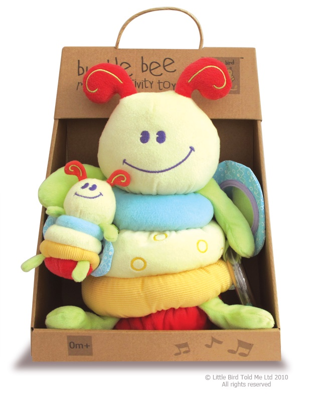 лучшая цена Мягкая игрушка Little Bird Told Me Игрушка развивающая зеленый, желтый