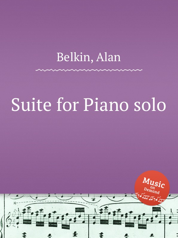 A. Belkin Suite for Piano solo