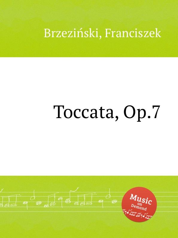 F. Brzeziński Toccata, Op.7