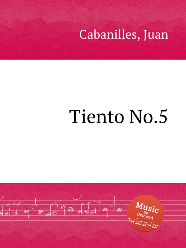 J. Cabanilles Tiento No.5 j cabanilles tiento no 20