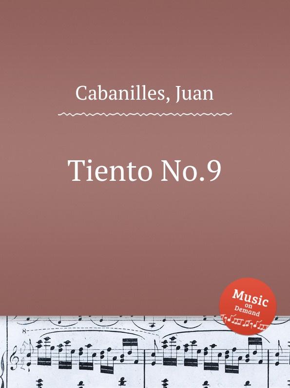 J. Cabanilles Tiento No.9 j cabanilles tiento no 20