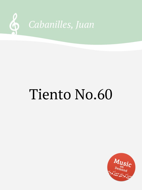 J. Cabanilles Tiento No.60 j cabanilles tiento no 20