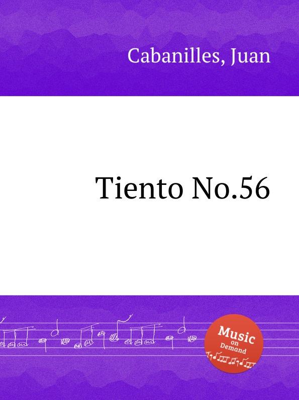 J. Cabanilles Tiento No.56 j cabanilles tiento no 20