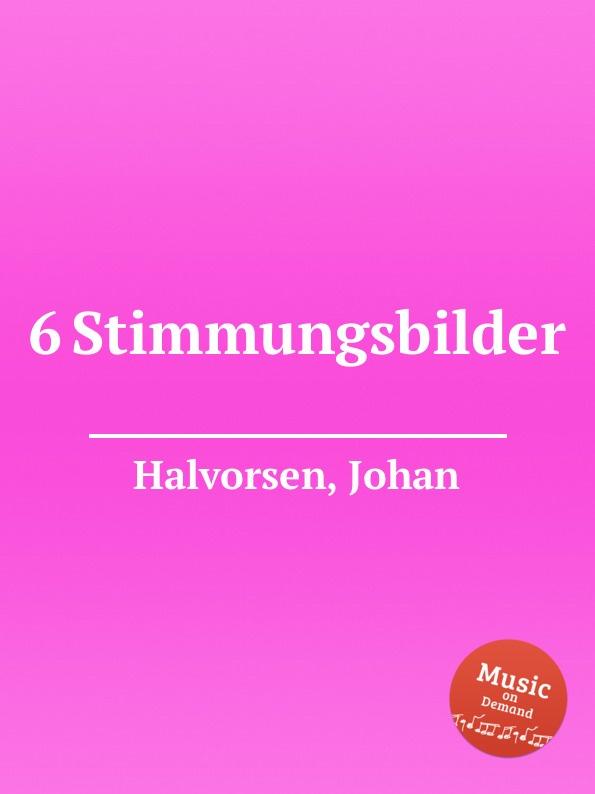 цена J. Halvorsen 6 Stimmungsbilder в интернет-магазинах