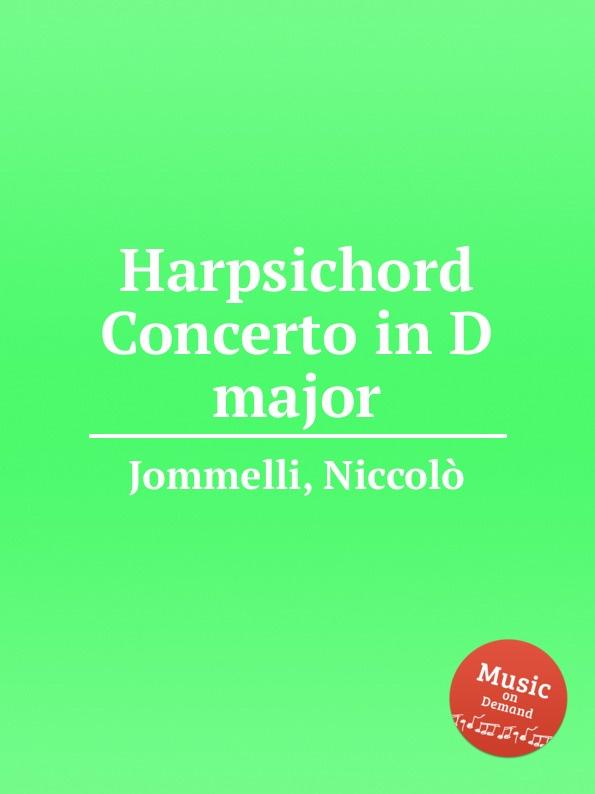N. Jommelli Harpsichord Concerto in D major n jommelli demetrio