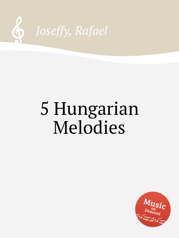 R. Joseffy 5 Hungarian Melodies s menter hungarian gypsy melodies