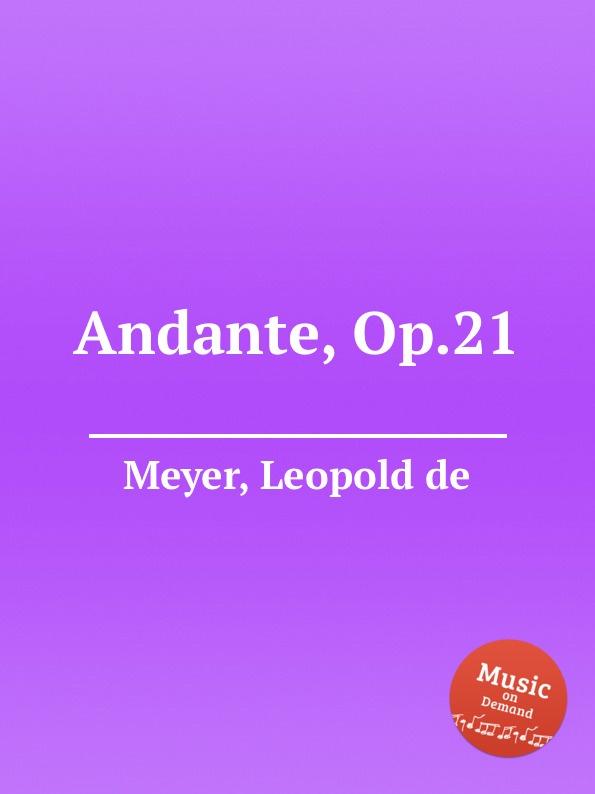 L. de Meyer Andante, Op.21 цена