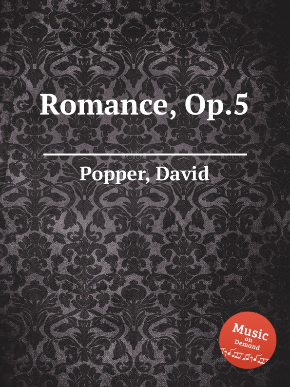 D. Popper Romance, Op.5 цена