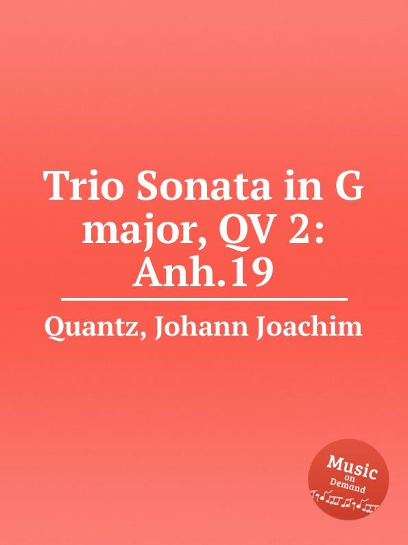 цена J.J. Quantz Trio Sonata in G major, QV 2:Anh.19 в интернет-магазинах