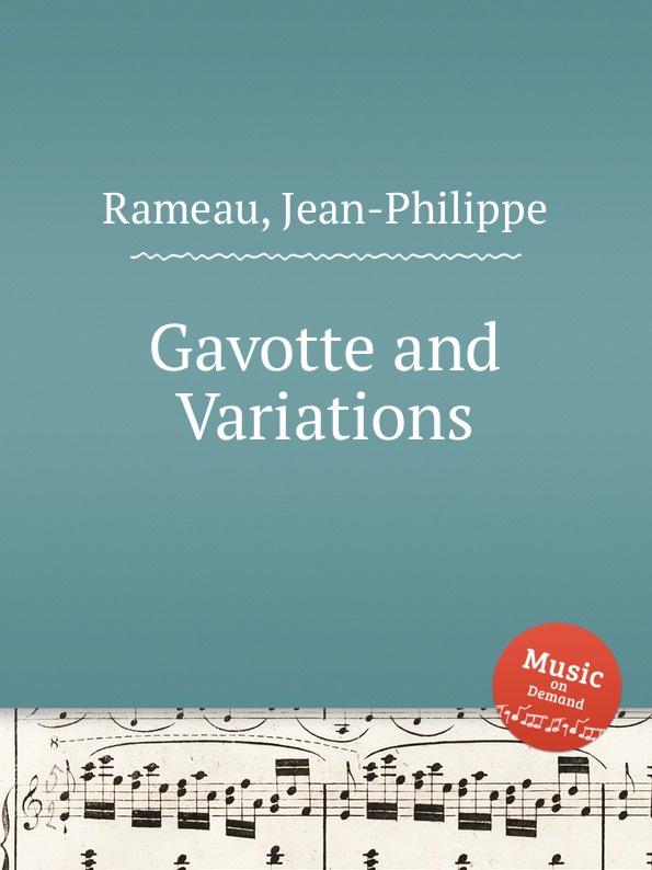 J. Rameau Gavotte and Variations j rameau orphee