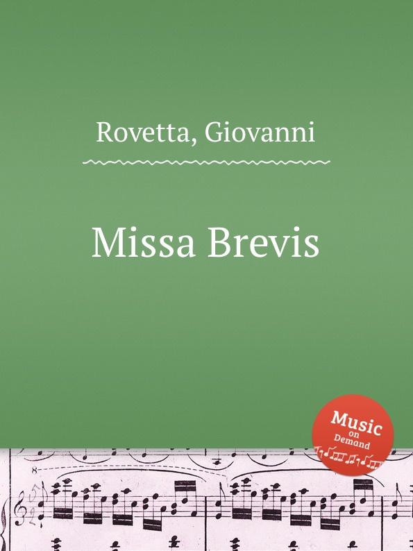 G. Rovetta Missa Brevis f zintl missa brevis for monika lang