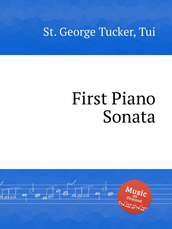 St. T.G. Tucker First Piano Sonata st t g tucker ave verum for piano
