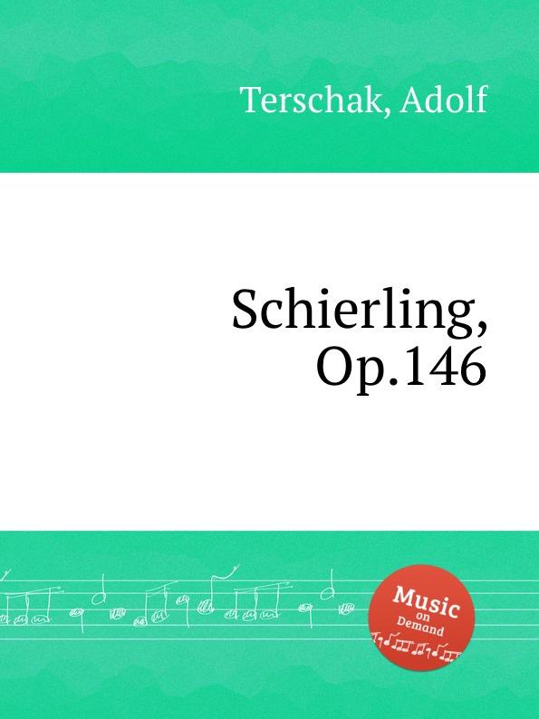 A. Terschak Schierling, Op.146 a terschak konzertstuck op 51