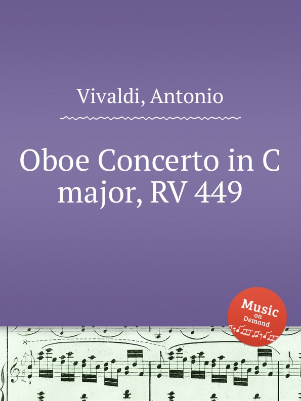 A. Vivaldi Oboe Concerto in C major, RV 449 c a ph braun 18 caprices for oboe