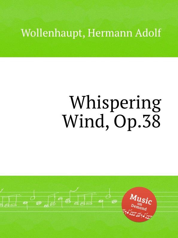 H.A. Wollenhaupt Whispering Wind, Op.38 цена и фото