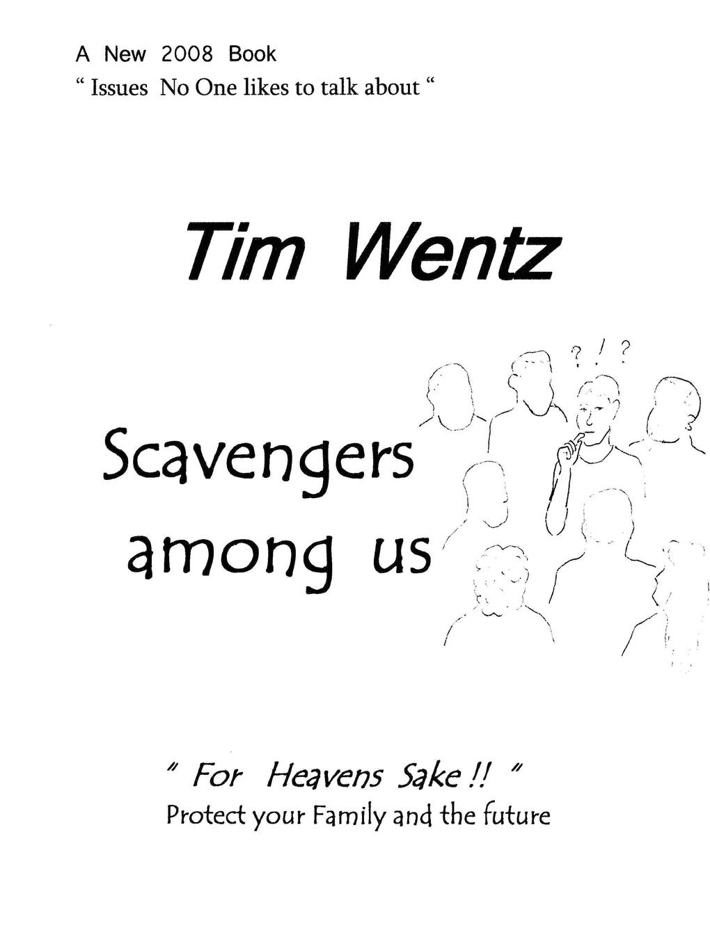 tim wentz Scavengers among us scavengers in india page 1