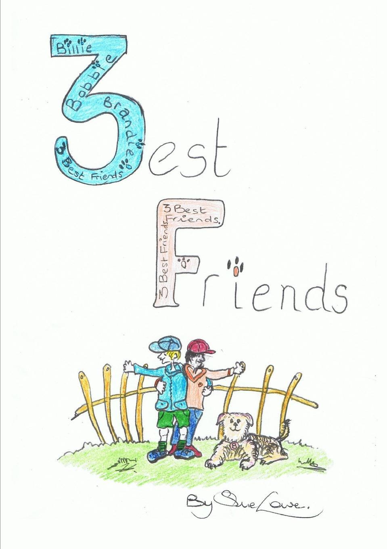 Sue Lowe Three Best Friends enbe enjoy the best children watch 529 black