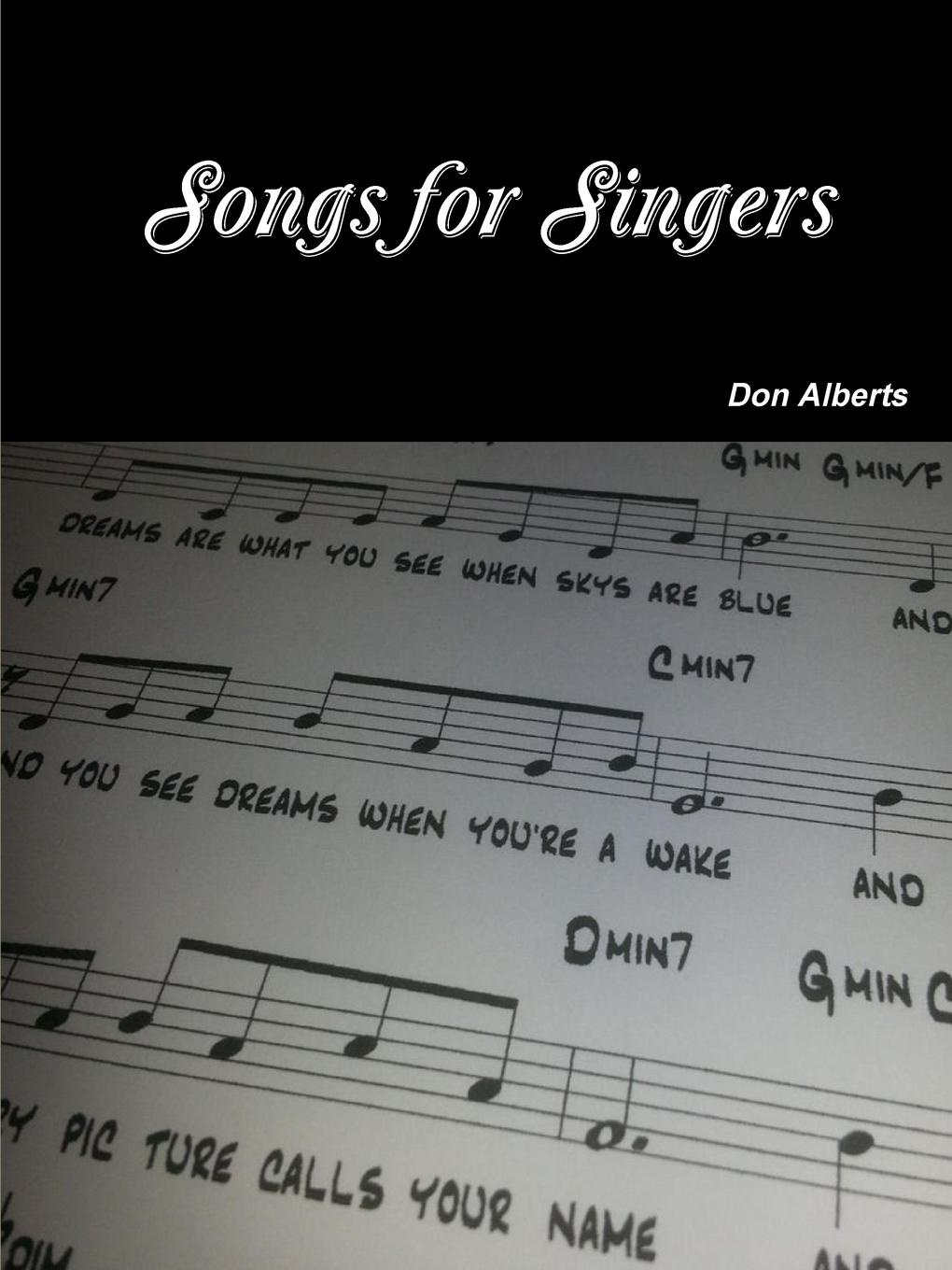 Don Alberts Songs for Singers rock s сool volume 3