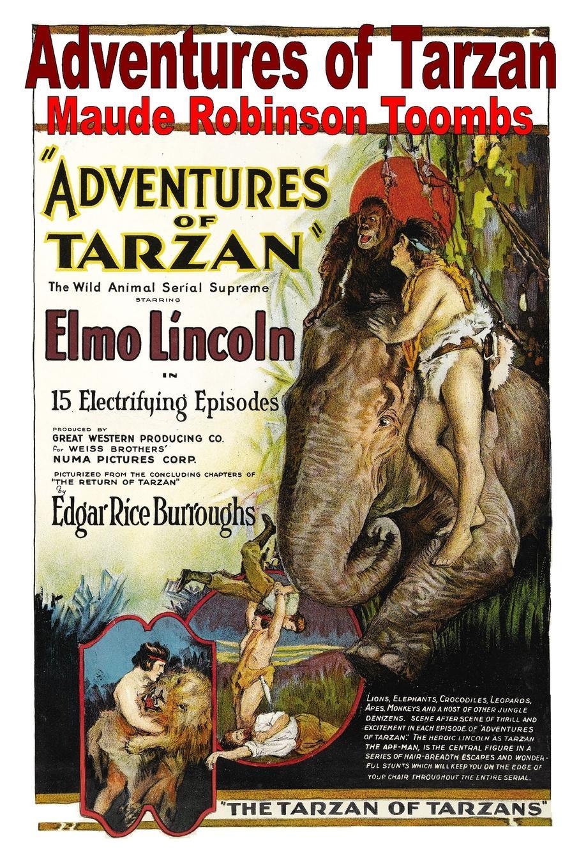 Maude Robinson Toombs Adventures of Tarzan superman tarzan sons of the jungle