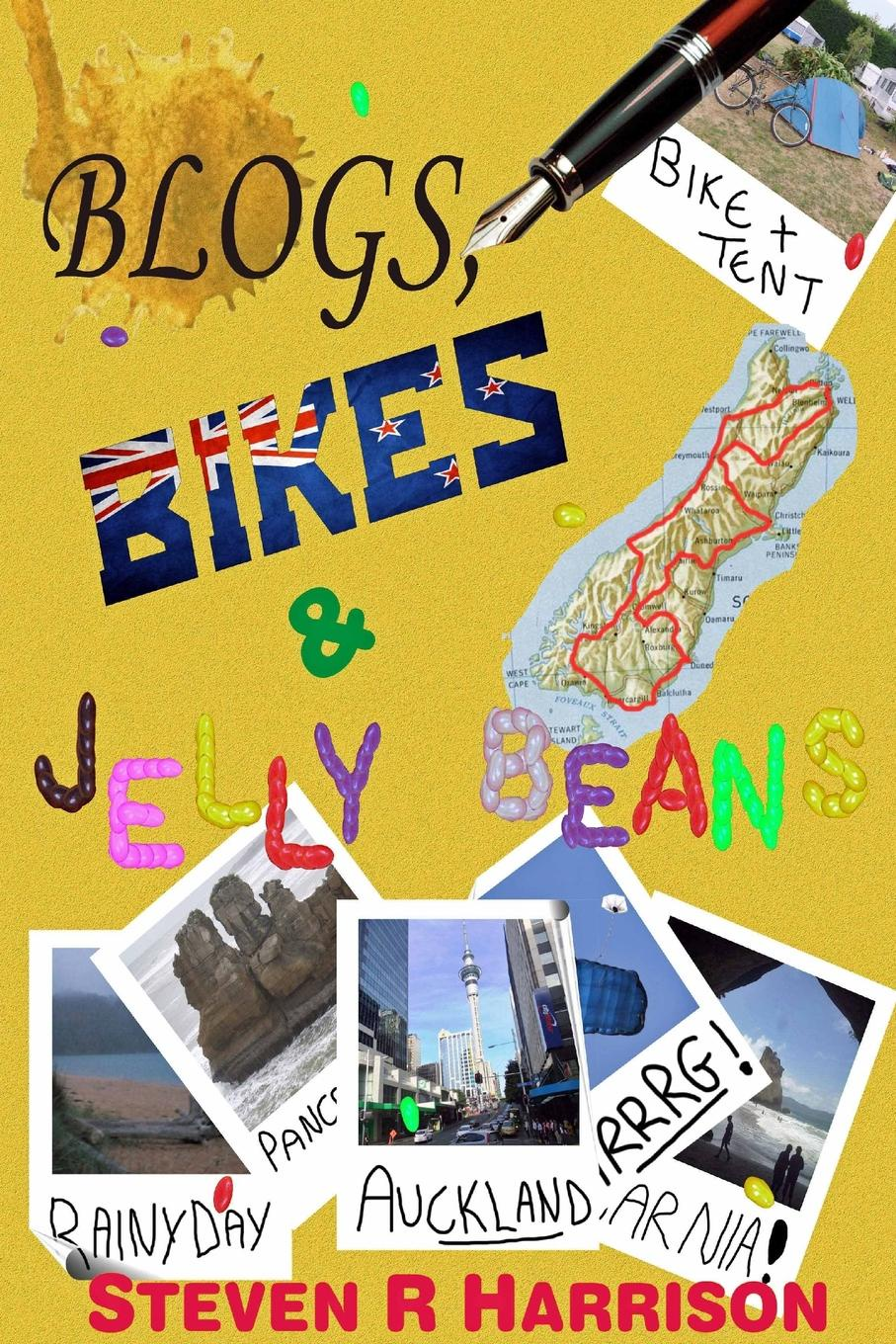 Steven R. Harrison Blogs, Bikes . Jelly Beans.