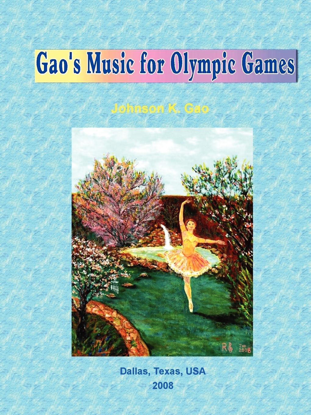 Johnson Gao Gao.s Music for Olympic Games cd sting songs from the labyrinth