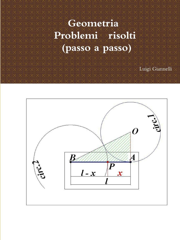 Luigi Giannelli Geometria, Problemi Risolti (Passo a Passo) massimo fabrizi m avviene di svegliarmi e di congiungermi e di possedere ungaretti traduttore di blake
