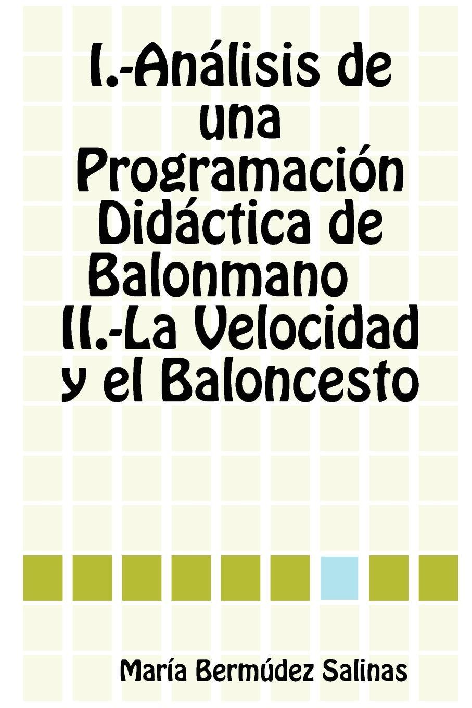 Mara Bermdez Salinas, Maria Bermudez Salinas Analisis de Una Programacion Didactica de Balonmano La Velocidad y El Baloncesto цены