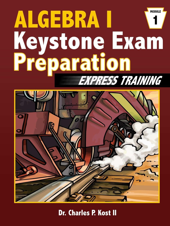 Charles P. Kost II Algebra I Keystone Exam Express Training - Module 1 cat6 180 degree angle rj45 ethernet keystone round jack coupler pack of 5