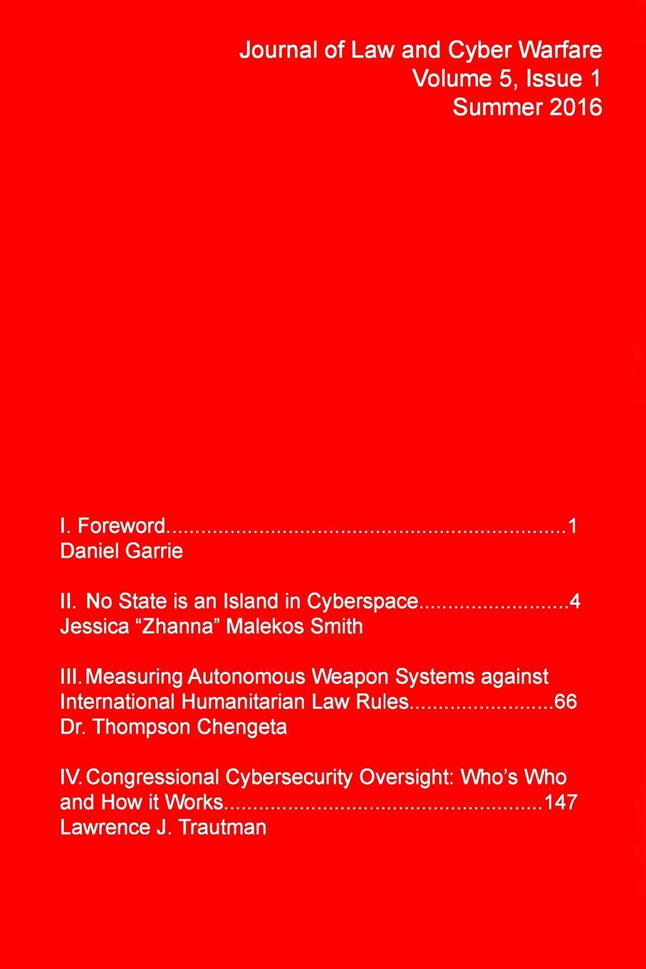Journal of Law Cyber Warfare JLCW Vol. 5, No. 1 passive activity rules – law