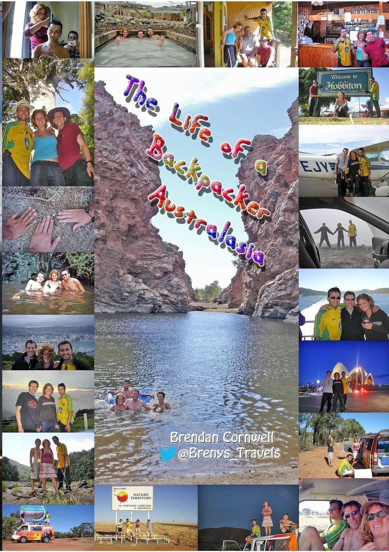 Brendan Cornwell The Life of a Backpacker. Australasia
