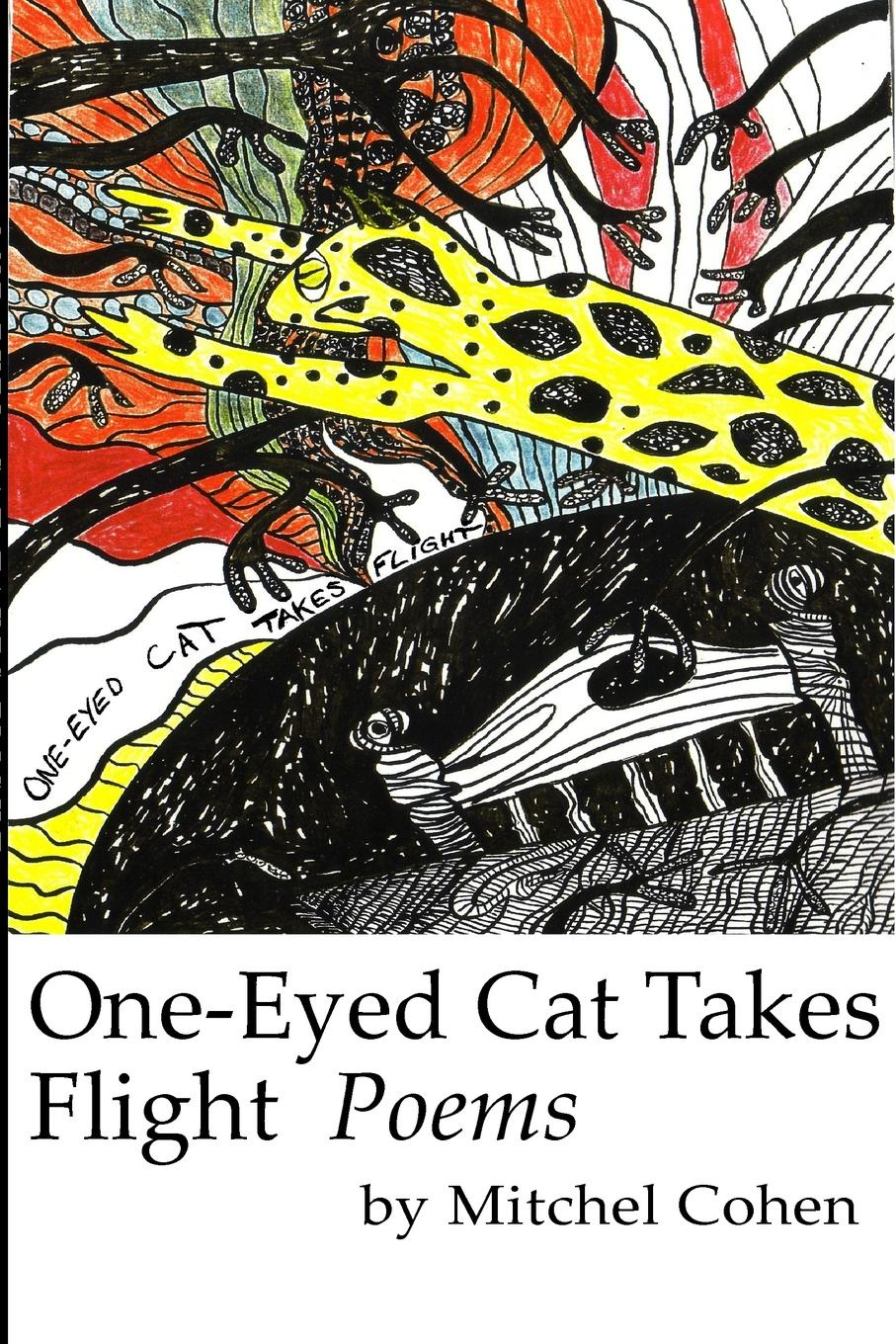 Mitchel Cohen One-Eyed Cat Takes Flight leather s takedown