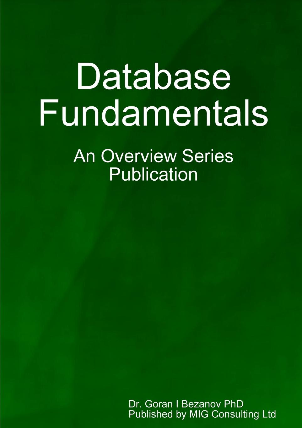Goran Bezanov Database fundamentals цена