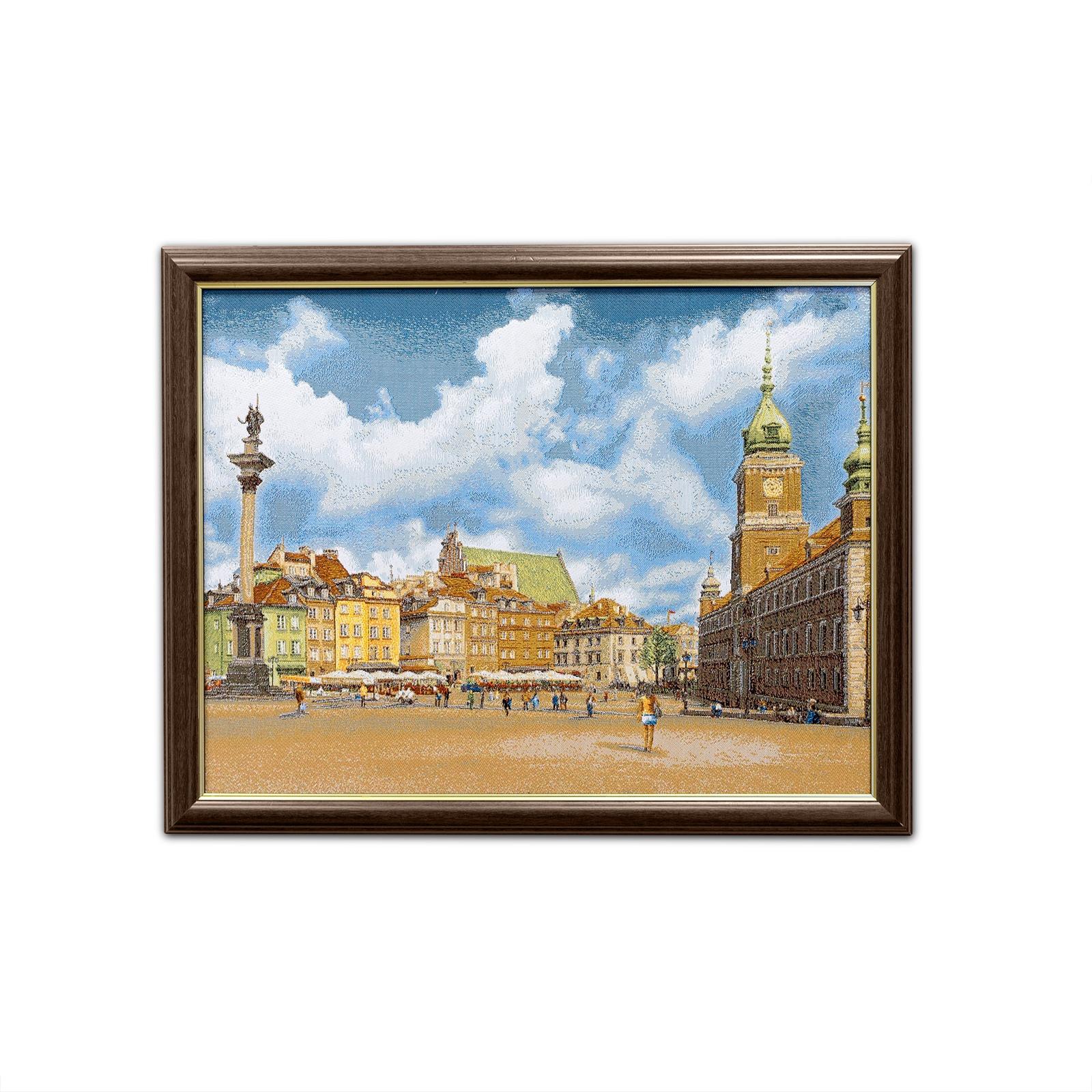 Картина Магазин гобеленов Варшава площадь 40*51 см, Гобелен стоимость авиабилета москва варшава