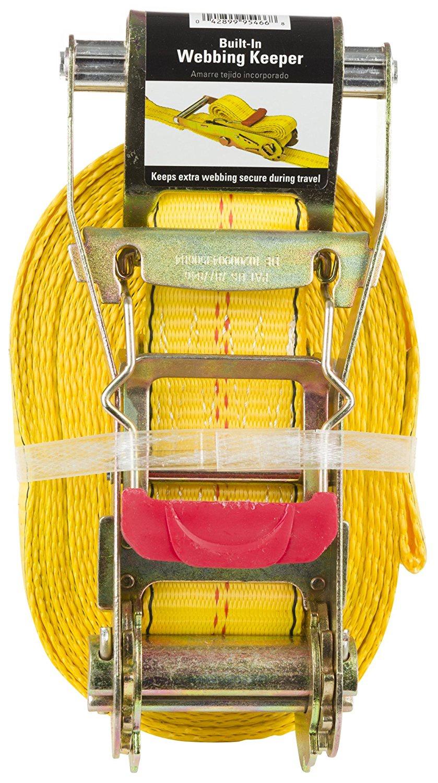 ремень стяжной Reese Ремень стяжной PRO с трещёткой и плоскими крюками, 9м (30'), 1,5т (3300Lb) smart connect artway pro 1 9м 7 контактная обновленная