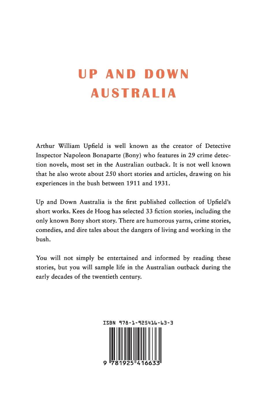 Arthur W. Upfield Up and Down Australia arthur w upfield up and down australia