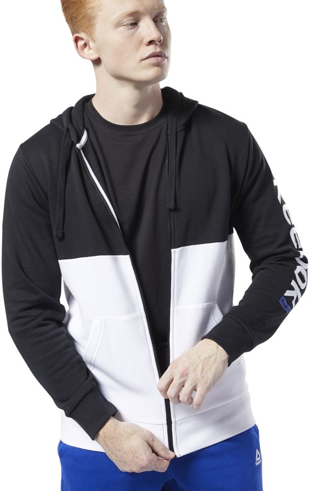 Худи Reebok Te Bl Fz Hoodie худи reebok s fashion hoodie