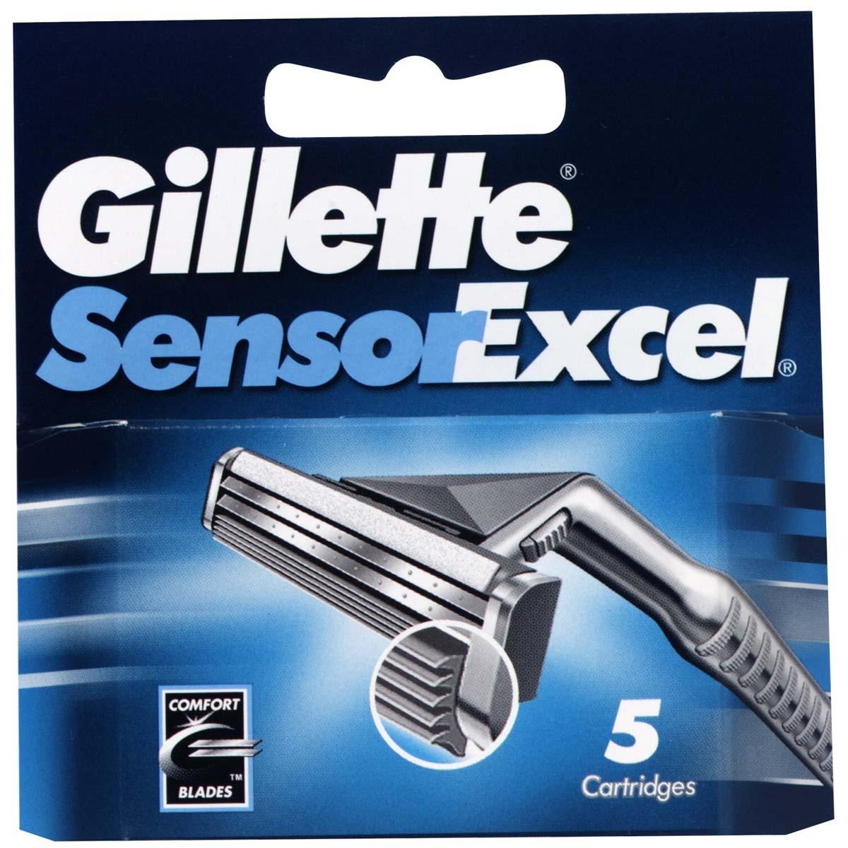 Сменные кассеты для бритв Gillette Сменные лезвия Sensor Excel 5 шт. tcrt5000 reflective infrared sensor photoelectric switches 10 pcs