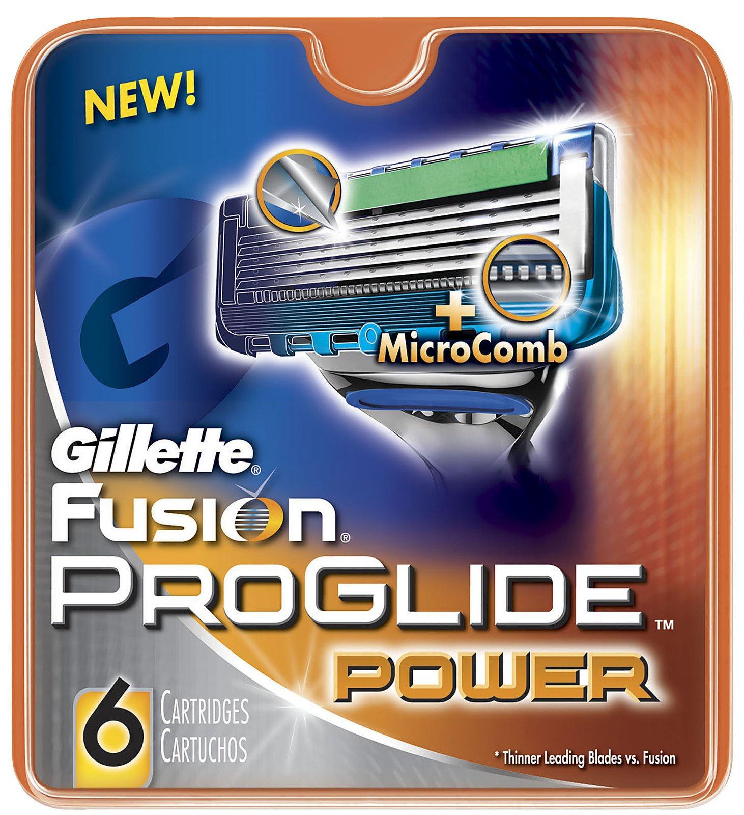 Сменные кассеты для бритв Gillette сменные кассеты Fusion ProGlide Power 6 сменные кассеты для мужской бритвы fusion proglide gillette 6 шт