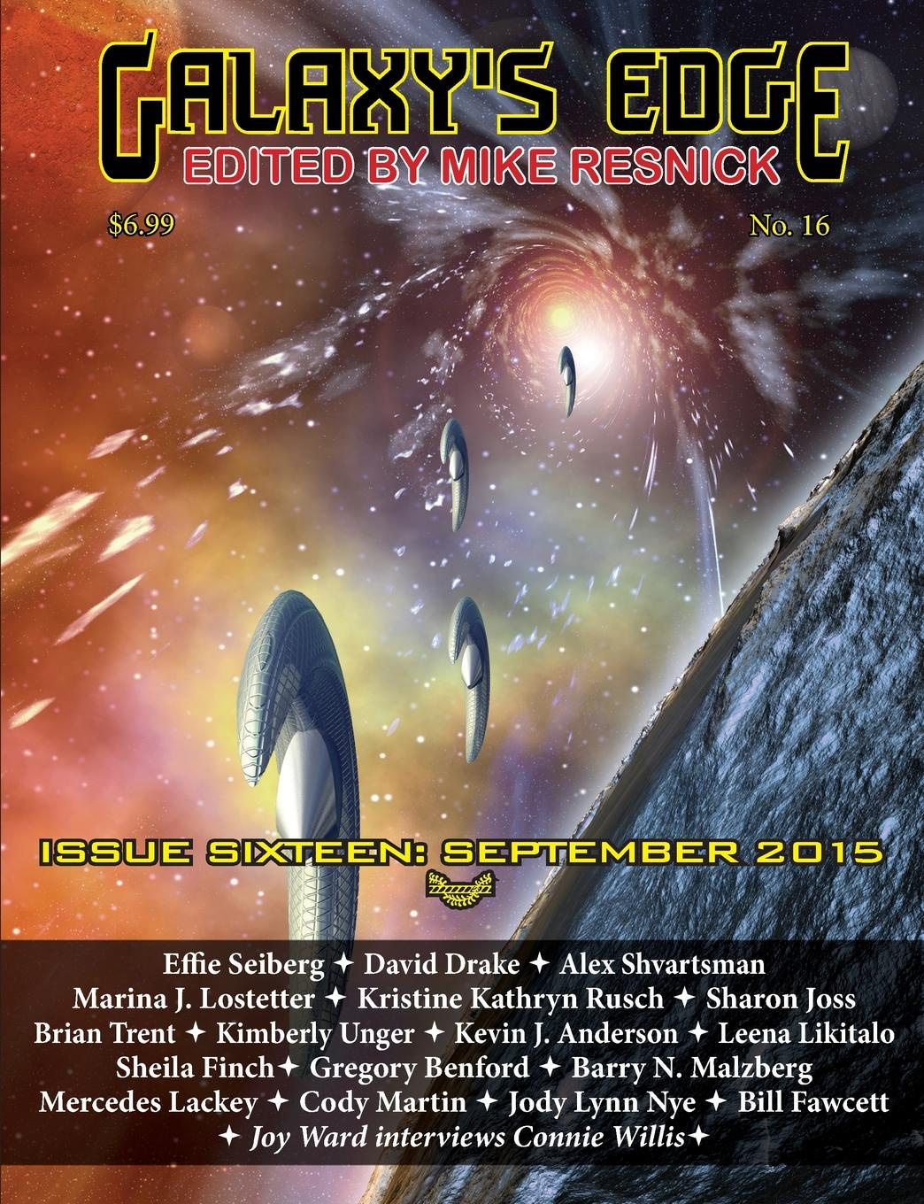 David Drake, Kevin J. Anderson Galaxy.s Edge Magazine. Issue 16, September 2015 jody lynn nye a circle of celebrations the complete edition