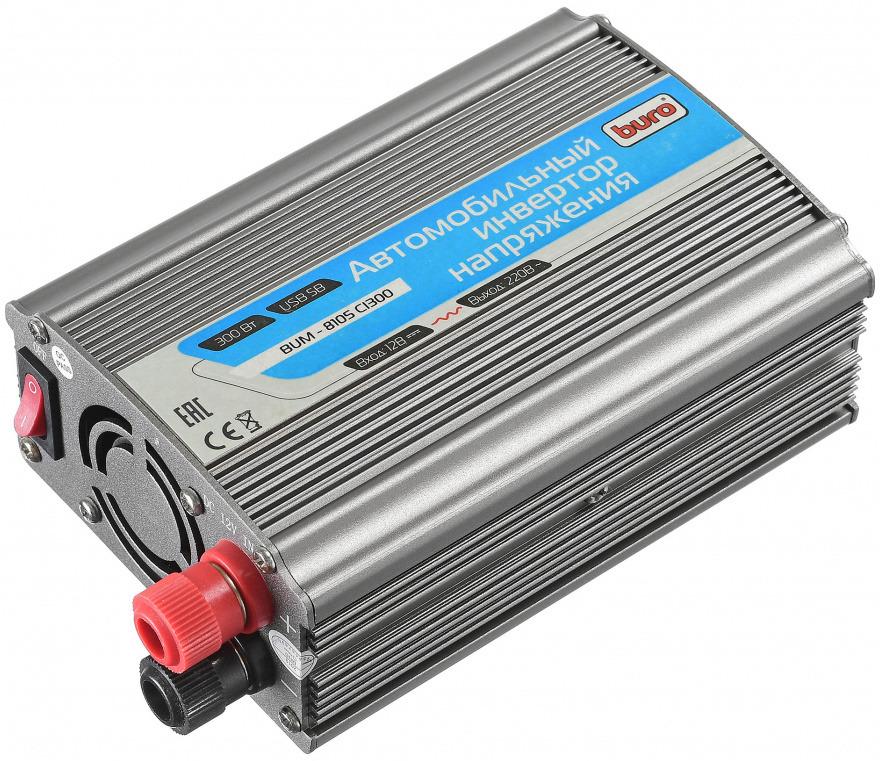 Buro BUM-8105CI300 автоинвертор цвет в ассортименте