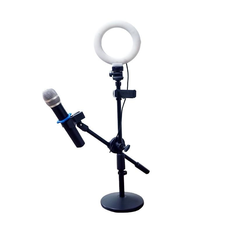 Студийное оборудование Okira Кольцевая лампа LED RING DAR 72, черный