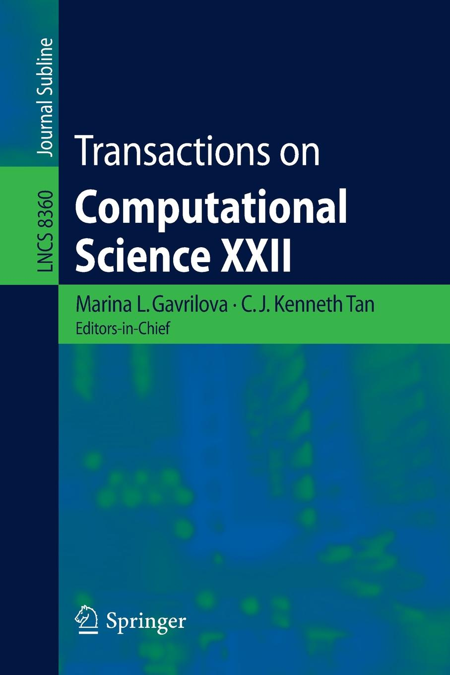 Transactions on Computational Science XXII цена