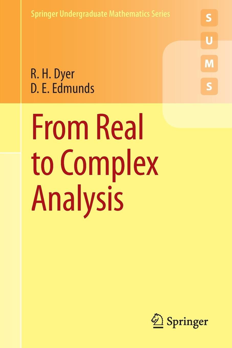 R. H. Dyer, D. E. Edmunds From Real to Complex Analysis michael archer d the forex chartist companion a visual approach to technical analysis