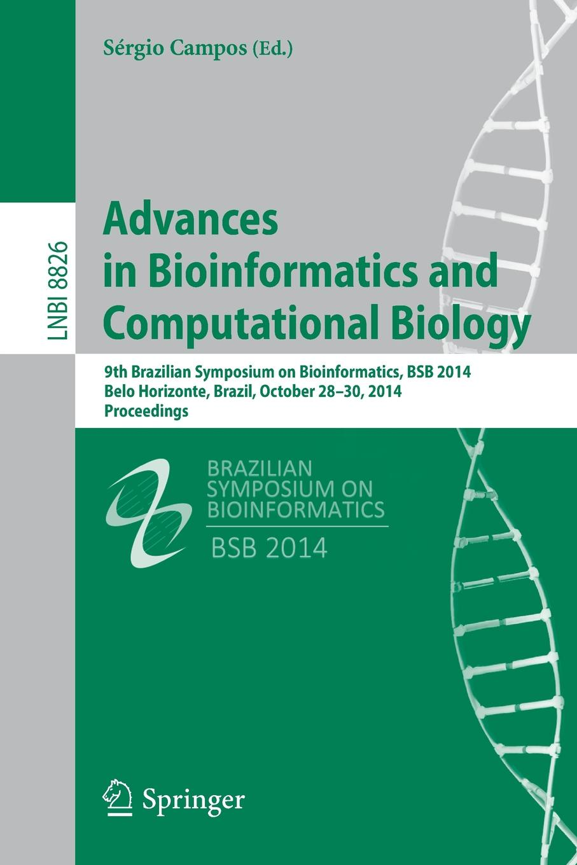 цены на Advances in Bioinformatics and Computational Biology. 9th Brazilian Symposium on Bioinformatics, Bsb 2014, Belo Horizonte, Brazil, October 28-30, 2014  в интернет-магазинах