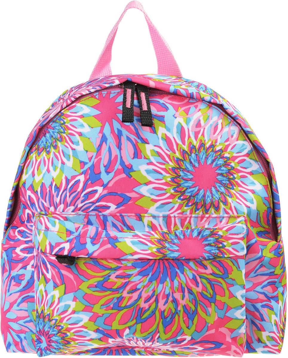 Рюкзак дошкольный №1 School Цветы, 843421, 24 х 20 х 11 см