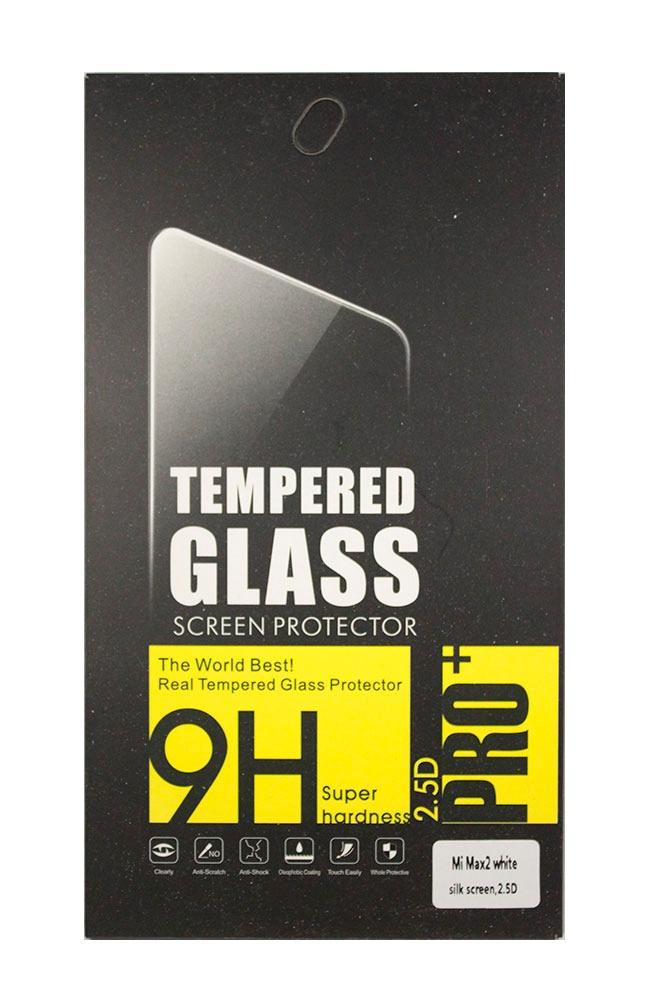 цена Защитное стекло Xiaomi Mi MAX 2 (белая рамка), белый в интернет-магазинах