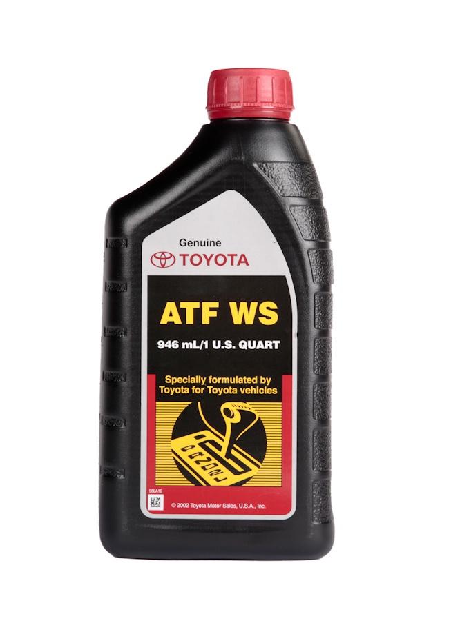 Трансмиссионное масло Toyota 00289ATFWS запчасти для автоматических столов emi