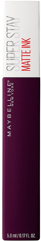 Помада для губ жидкая Maybelline New York Super Stay Matte Ink, матовая, оттенок 45, Иллюзионист, 5 мл цена