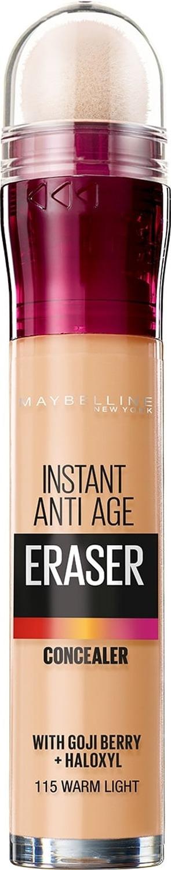 Консилер для кожи вокруг глаз Maybelline New York The Eraser Eye, оттенок 115, Теплый бежевый, 6,8 мл