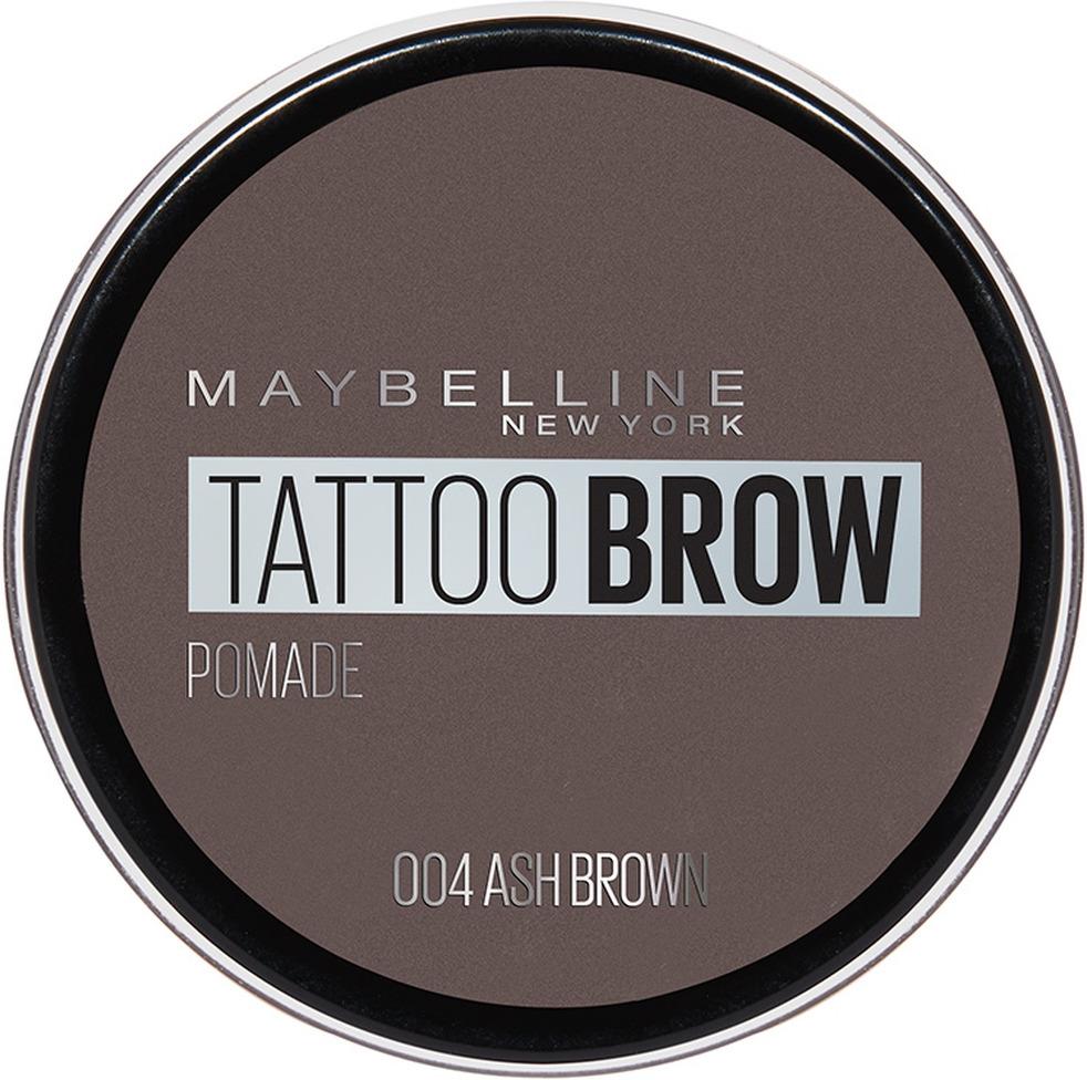 Помада для бровей Maybelline New York Brow Pomade, оттенок 04, Пепельно-коричневый, 3,5 г